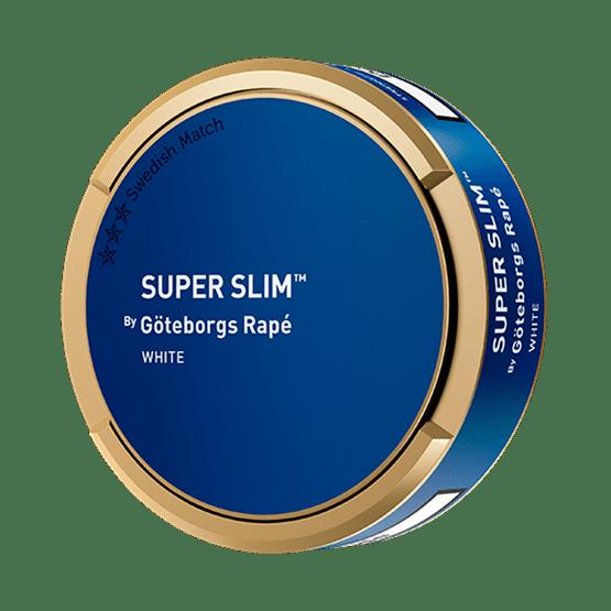 Göteborgs Rapé Super Slim White Portion