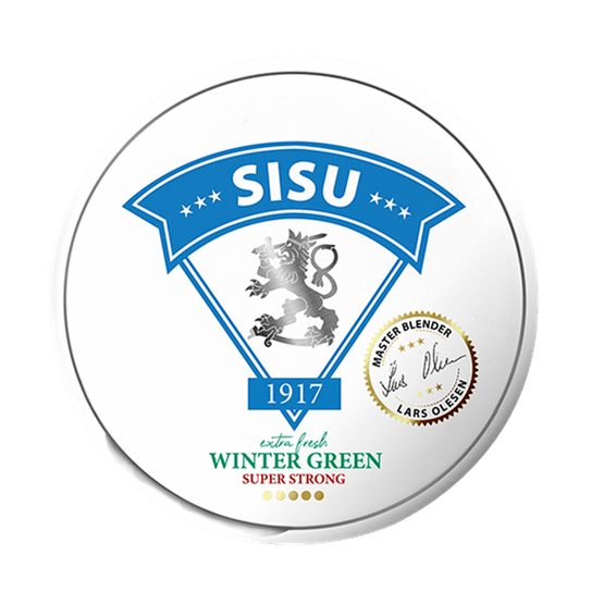 SISU 1971 Fresh Wintergreen White Portion