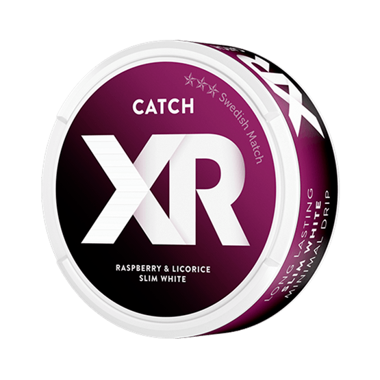 XR Catch Himbeer Lakritz Weiß Portion Snus