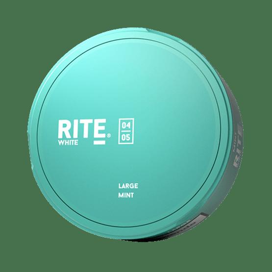 Rite Mint Large White Portionssnus Snus