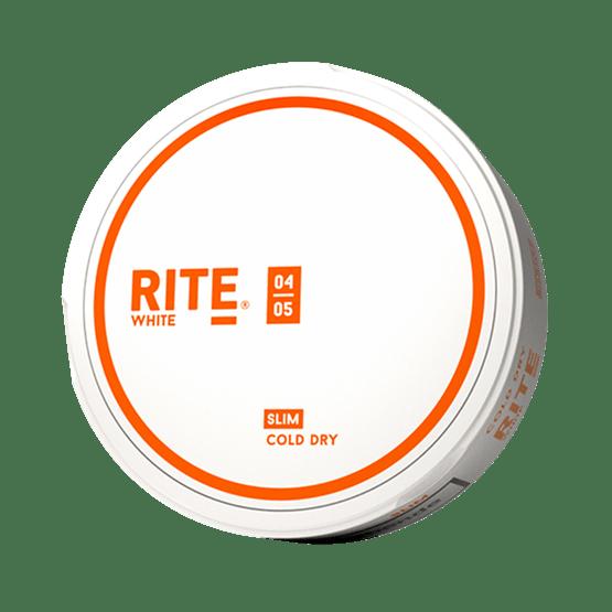 Rite Cold Dry Slim White Portionssnus Snus