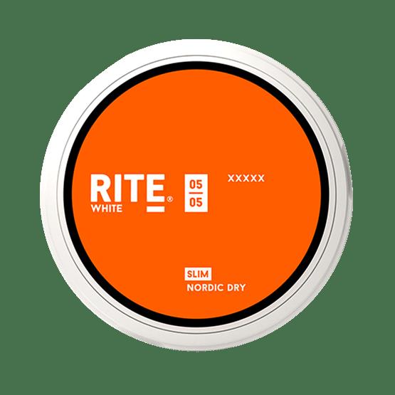 Rite Nordic Dry Slim White  Portionssnus Snus