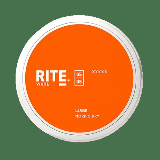Rite Nordic Dry Large White Portionssnus Snus