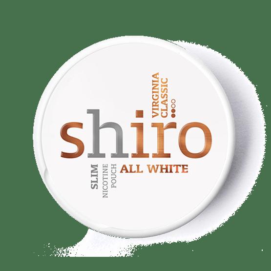 Shiro Virginia Classic All White portion