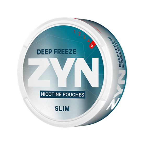ZYN Slim Deep Freeze Strong All White Portion