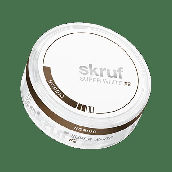 Skruf Super White Nordic Liquorice