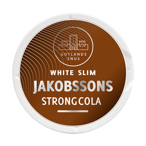 Jakobssons Strong Cola Slim White Portion