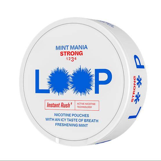 LOOP Mint Mania Strong Snus