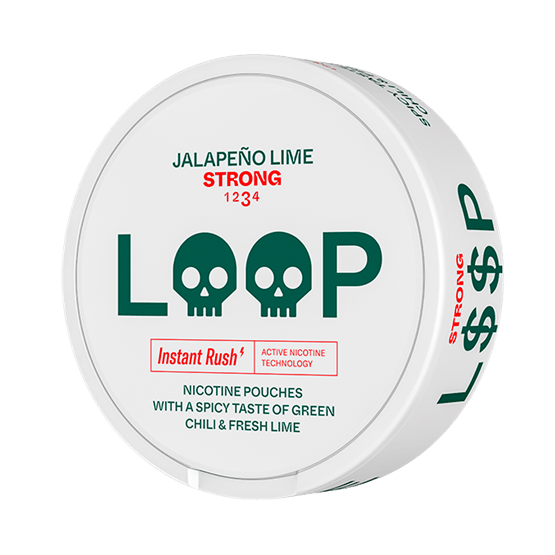 LOOP Jalapeno Lime Strong All White Snus
