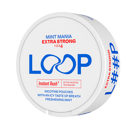LOOP Mint Mania Extra Strong Snus