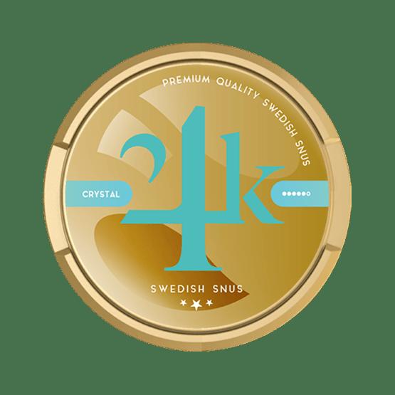 24K Crystal White Portion
