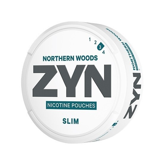 ZYN Slim Northern Woods All White Portion