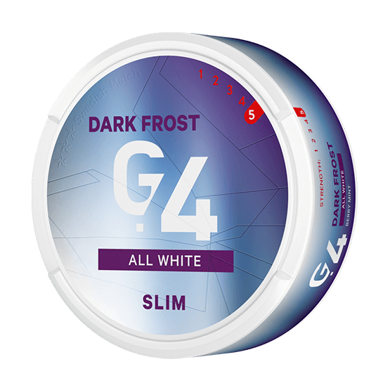General G4 Dark Frost Slim All White Portion