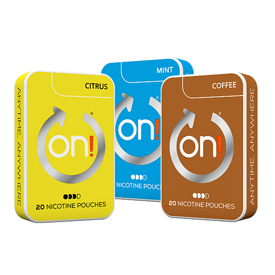 On! Mint, Citrus & Coffee 6 mg Strong Mixpack
