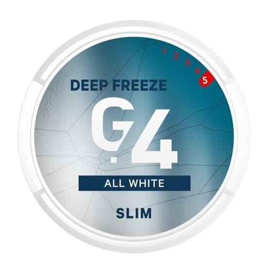 General G4 Deep Freeze Slim  All White Portion