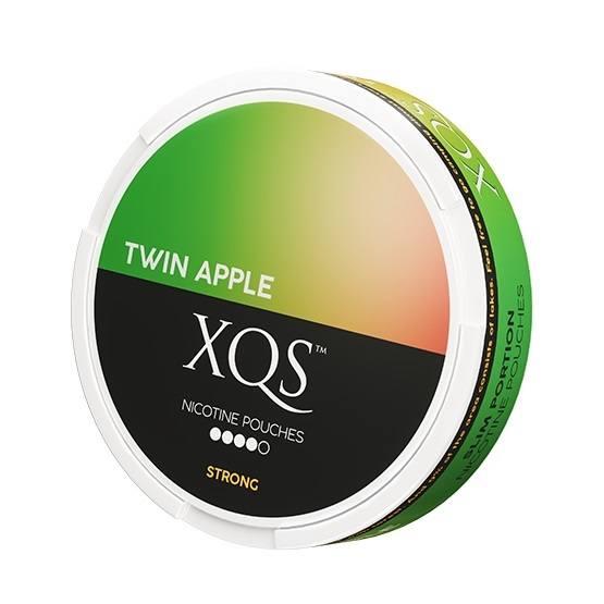 XQS Twin Apple Slim All White Portion