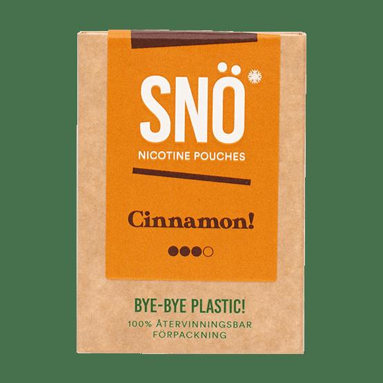 SNÖ Cinnamon All White Portion