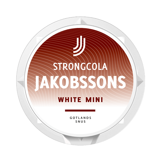 Jakobssons Strong Cola MiniWhite Portion
