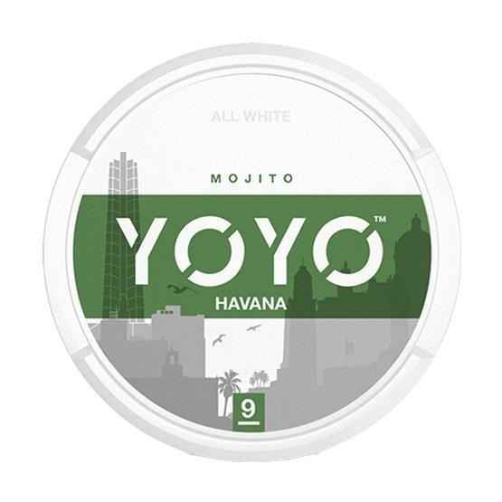 YOYO Havana Slim All White Portion