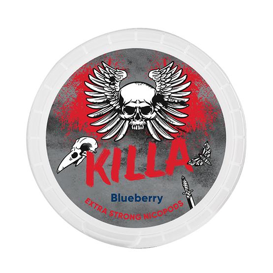 Killa Blueberry Extra Strong Slim All White Portion