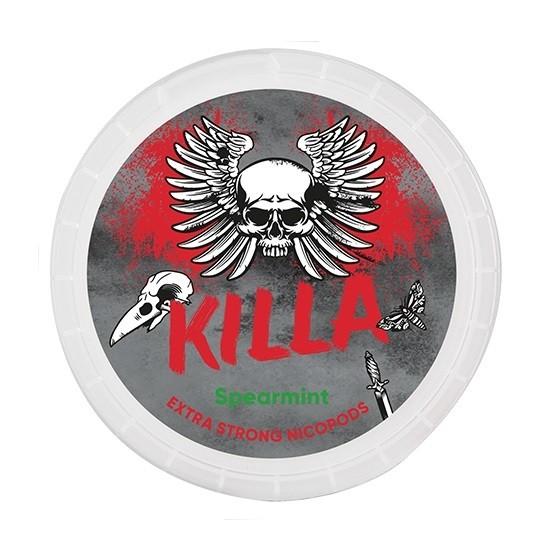 Killa Spearmint Extra Strong Slim All White Portion