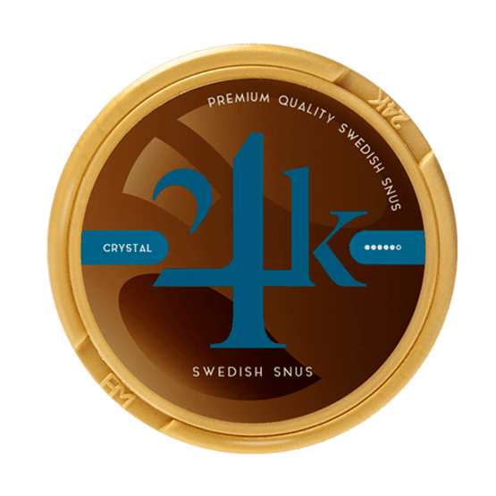 24K Crystal Limited Edition White Portion Snus