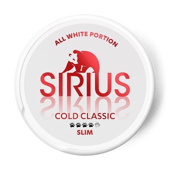 Sirius Cold Classic Slim All White Portion
