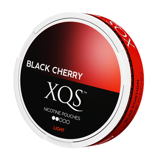 XQS Black Cherry Light All White Portion