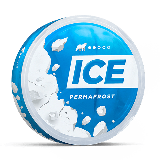 Ice Permafrost Slim Normal All White Portion