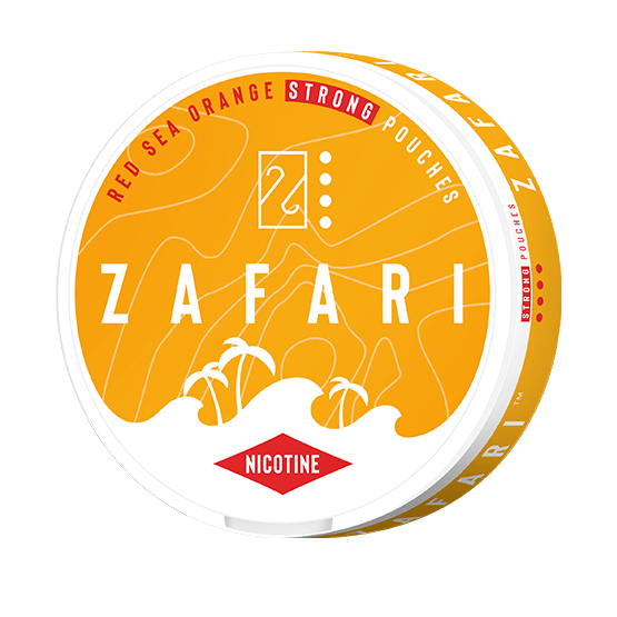 Zafari Red Sea Orange 10mg Slim All White Portion