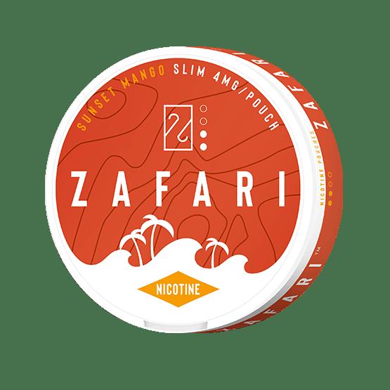 Zafari Sunset Mango 4mg Slim All White Portion