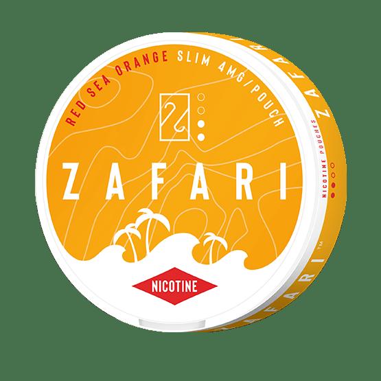 Zafari Red Sea Orange 4mg Slim All White Portion