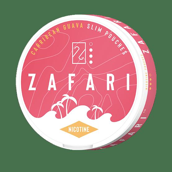 Zafari Carribean Guava 6mg Slim All White Portion