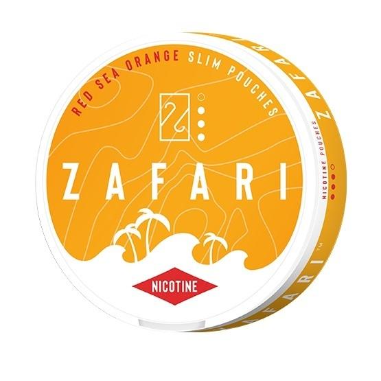 Zafari Red Sea Orange 6mg Slim All White Portion