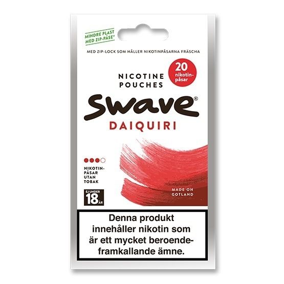 Swave Daiquiri Slim Strong All White Portion