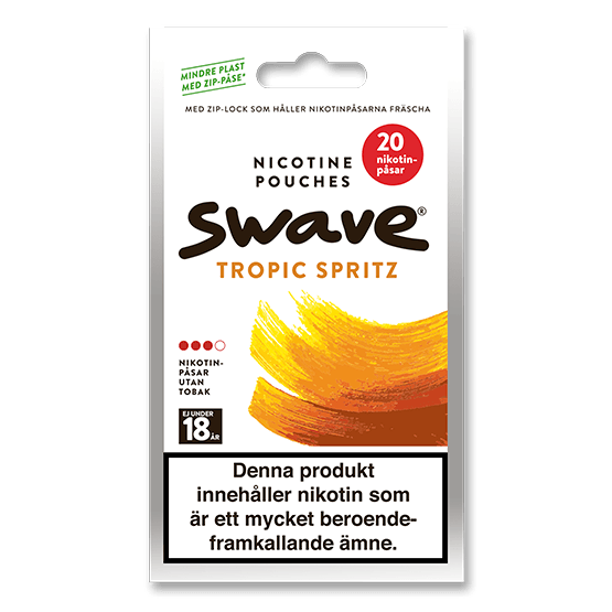 Swave Tropic Spritz Slim Strong All White Portion