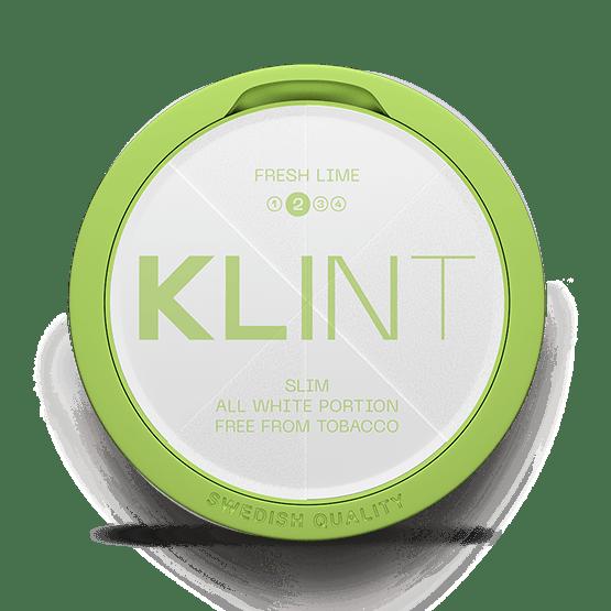 Klint Fresh Lime Slim All White Portion