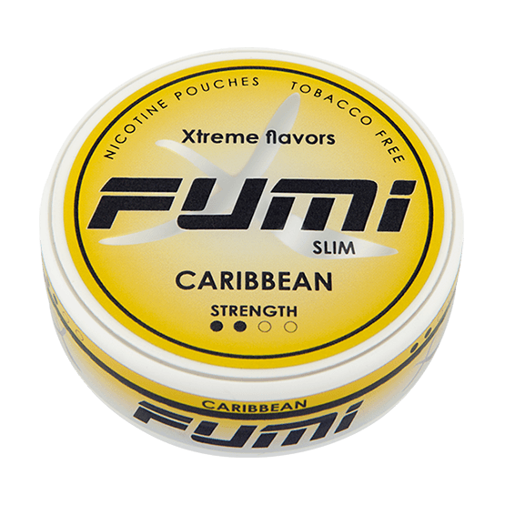 Fumi Caribbean Slim Strong All White Portion