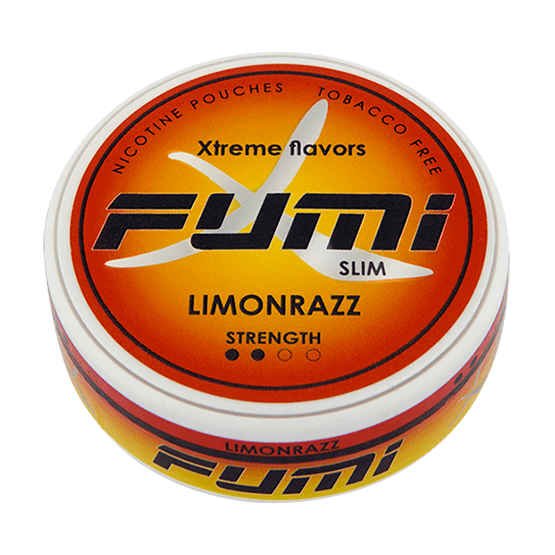 Fumi Limonrazz Slim Strong All White Portion