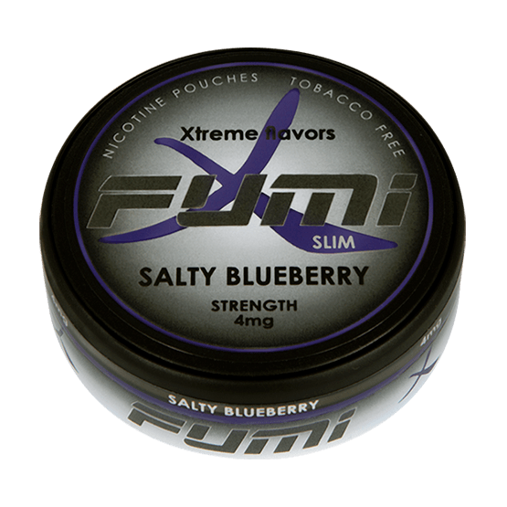 Fumi Salty Blueberry Slim All White Portion