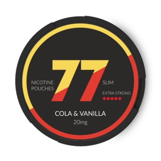 77 Cola & Vanilla Slim Extra Strong All White Portion