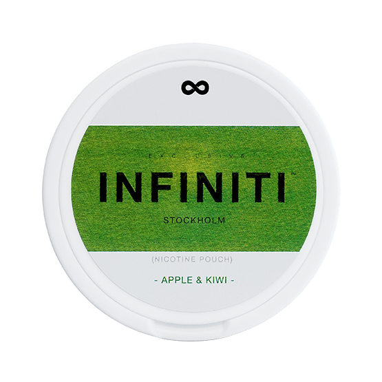 Infiniti Apple-Kiwi Slim Extra Strong All White Portion