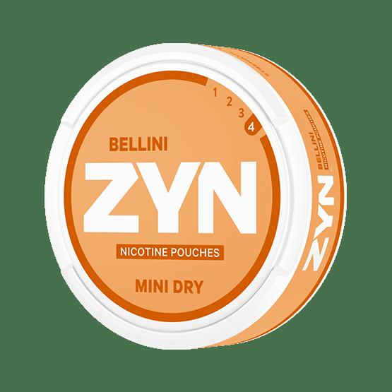 Zyn Dry Bellini Mini Normal All White Portion