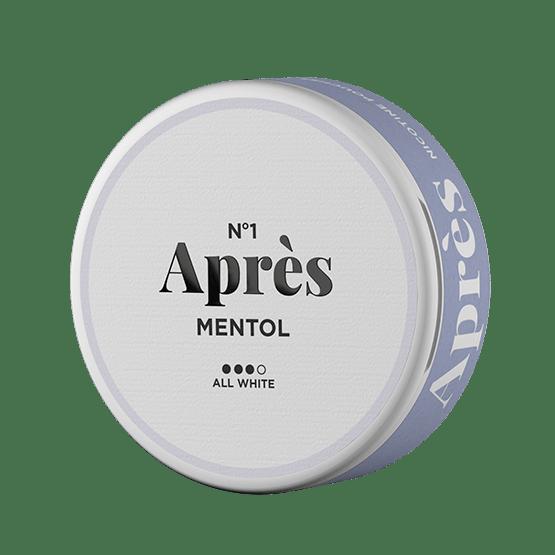 No.1 Aprés Mentol Original Strong All White Portion