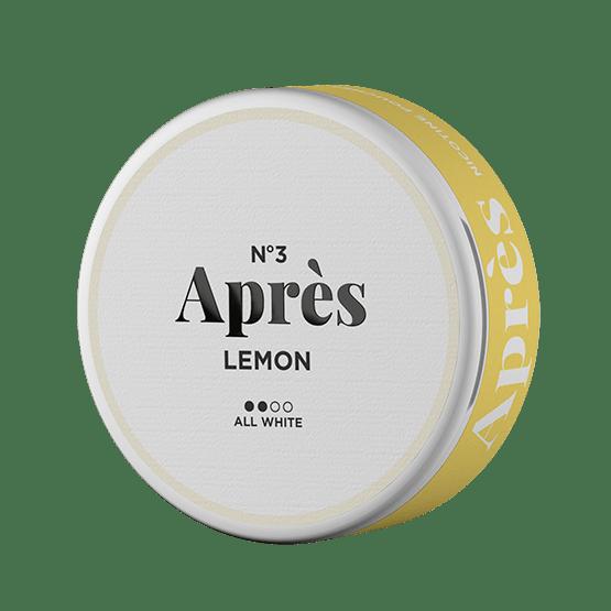 No.3 Aprés Lemon Original Normal All White Portion