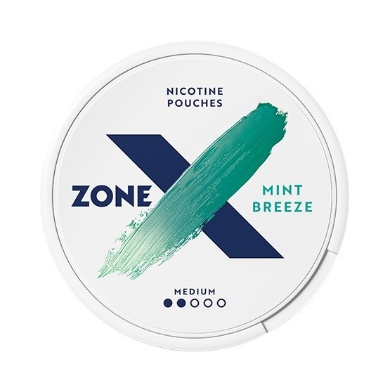 zoneX Mint Breeze Slim Normal All White Portion