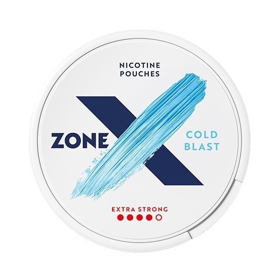 zoneX Cold Blast Slim Extra Strong All White Portion