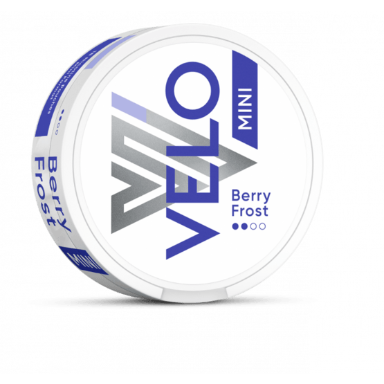 Velo Berry Frost Mini 6mg All White Portion