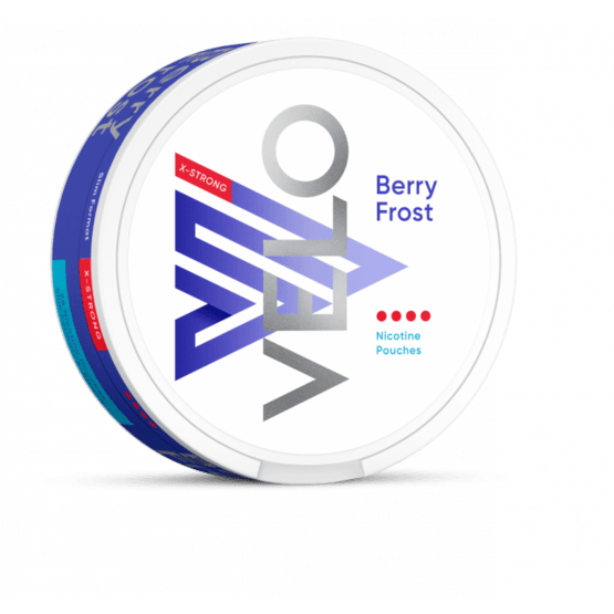 Velo Berry Frost X-Strong 10.9mg All White Portion