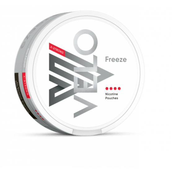 Velo Freeze X-Strong 10.9mg All White Portion